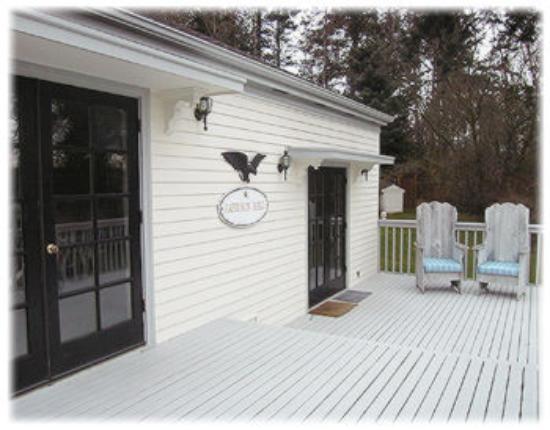Coupeville, WA: Garrison Hall Deck