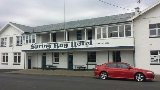 Triabunna, ออสเตรเลีย: Spring Bay Hotel, Tirabunna