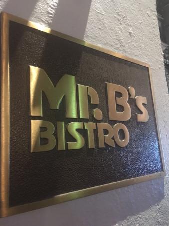 Mr. B's Bistro Photo