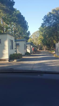 Nuriootpa, Australia: The row of cabins