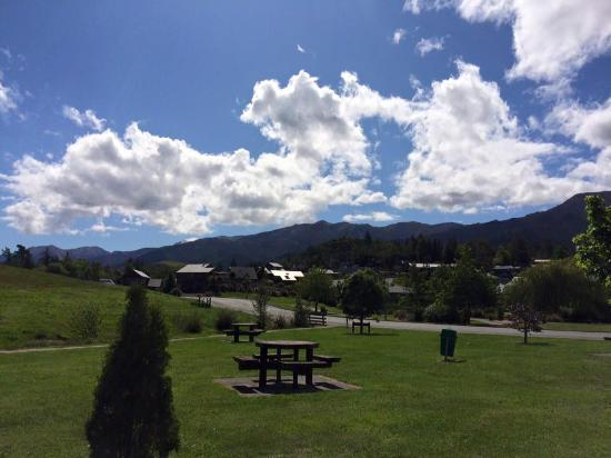 Hanmer Springs, Nova Zelândia: A beautiful view from the room