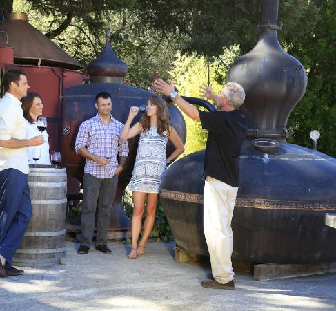St. Helena, Kalifornia: Distilling 101