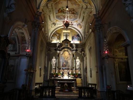 Igreja em Brunate