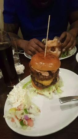 Dartford, UK: Burgers was great