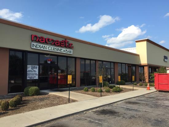 Elizabethtown, KY: New location for namaste indian restaurant