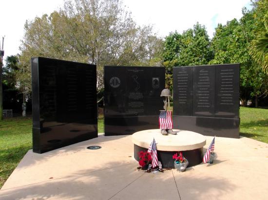 Vietnam War Memorial: South Florida Counties Honors Local Vietnam Fallen Heros