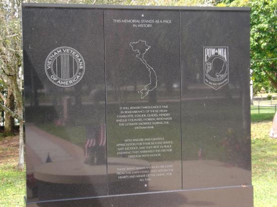 Vietnam War Memorial: Tribute Honors Local Vietnam Fallen Heros