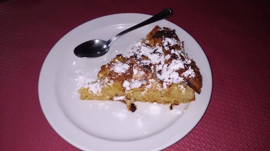 Valleseco, Spanyol: Tarta de manzana muy golosa