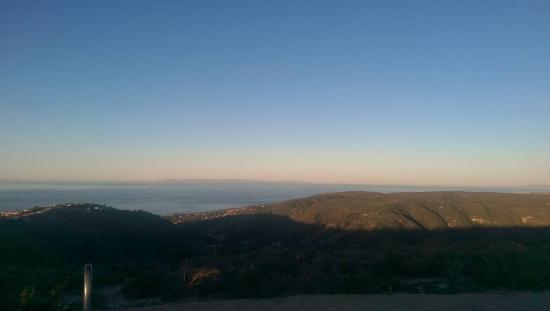 Laguna Niguel, Kalifornia: View from the 1/2 way point.