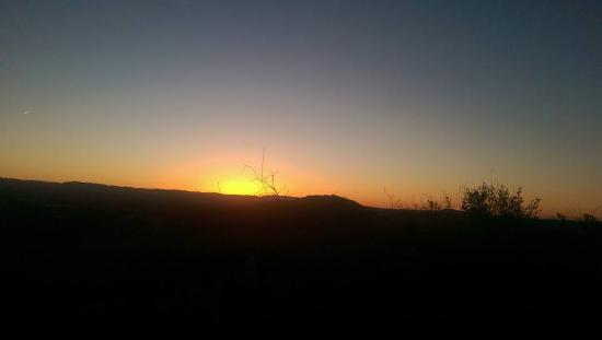 Laguna Niguel, Калифорния: Hiking before the sun comes up.