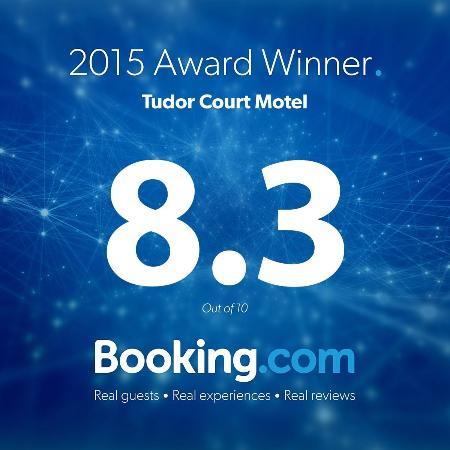 Tudor Court Motel: Award