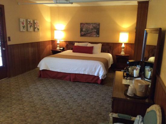 Gatlinburg Inn: King size bed