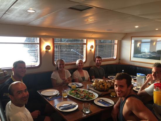Tutukaka, نيوزيلندا: supper