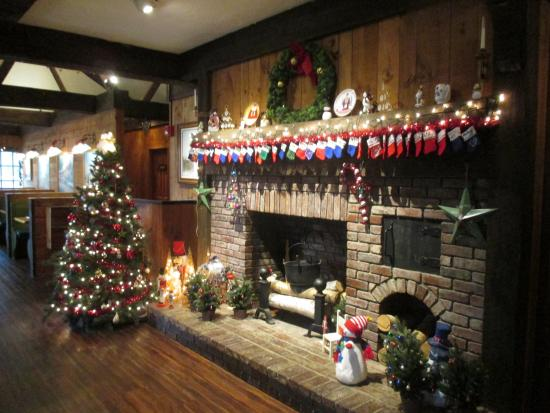 fireplace at christmas picture of hearth n kettle south yarmouth rh tripadvisor com