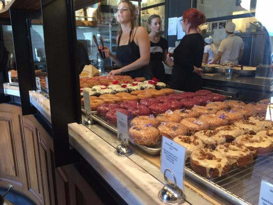 Photo of American Restaurant Sidecar Donuts And Coffee at 631 Wilshire Blvd, Santa Monica, CA 90401, United States