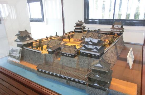 Toyohashi, Japón: 吉田城復元模型