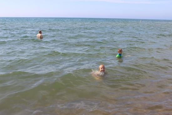 Bridgman, มิชิแกน: cold water