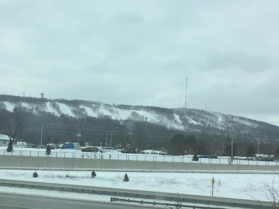 Wausau, WI: From the highway ...