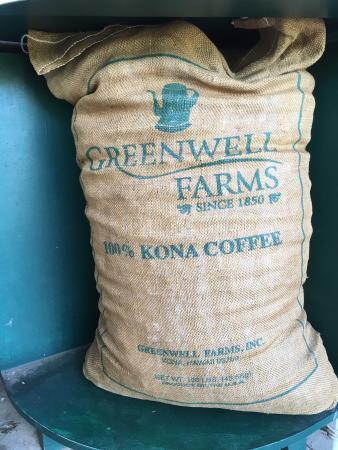 Kealakekua, هاواي: コーヒーの実まで出して見れました。