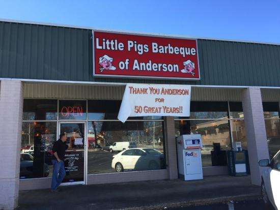 Anderson, SC: A great place to eat!