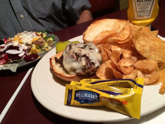 Charleston, WV: Burger with mayo