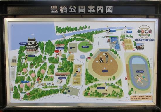 Toyohashi, Japón: 現地案内図