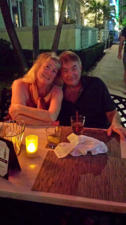 Crescent Resort On South Beach: Dinner for Two at Perfect Bistro ... Behind us is our CRESCENT HOTEL RESORT