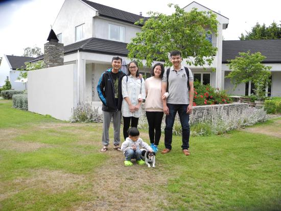 Rangiora, Selandia Baru: Our guests from