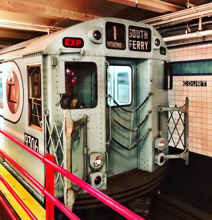 New York Transit Museum: Had a great time!! Spent several hours!!