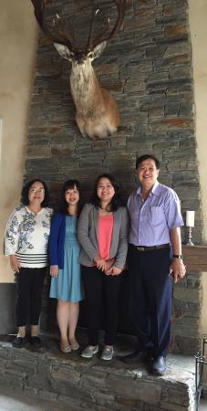 Rangiora, Nueva Zelanda: The McNamara family of Jakarta/ Australia