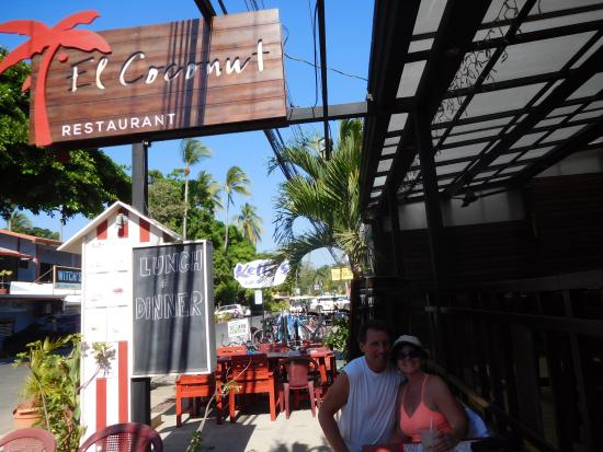 El Coconut Beach Club : great Margaritas!