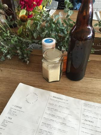 Prahran, Avustralya: Comfortable spot for breakfast