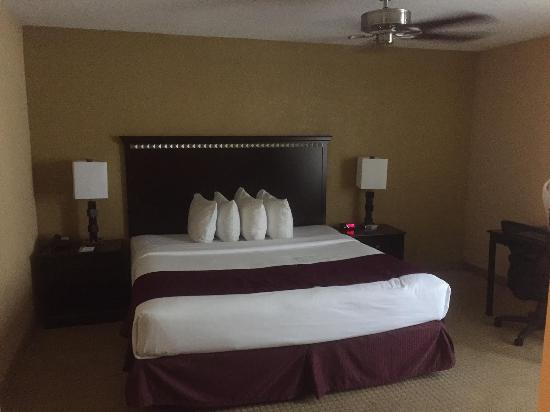 Nacogdoches, TX : Bedroom in Jacuzzi Suite