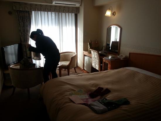 Hotel Sun Valley Izu-nagaoka Waraku: Spacey room.