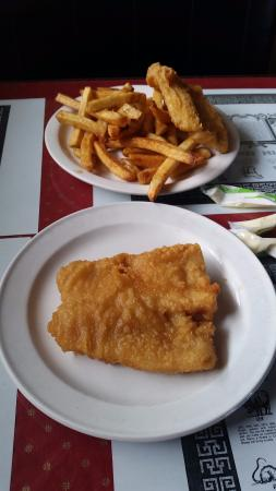 Grimsby, Canada: our meal