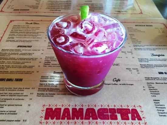 Havelock North, Nya Zeeland: Blueberry & Coconut Margarita - to die for!