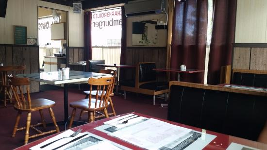 Grimsby, Canada: the restaurant