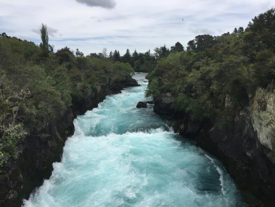 Taupo, Nova Zelândia: huka fall