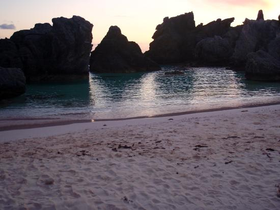Horseshoe Bay Beach : This is a small Cove next to the Main Beach. This is a good area for small children to swim in.