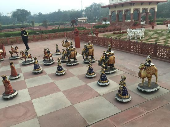 life size chess area picture of jai mahal palace jaipur tripadvisor rh tripadvisor co za