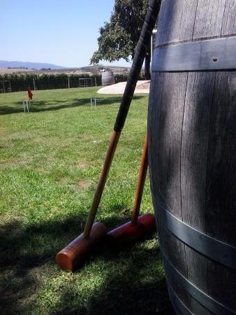 Yarra Glen, Australien: Complimentary Croquet