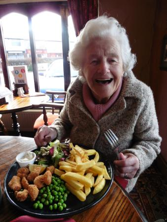 Ormskirk, UK: Gosh.......wont be able to eat all that!!!!!!!