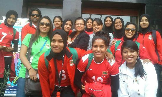 Hotel Atithi: Maldives team at atithi.. South Asian Games 2016