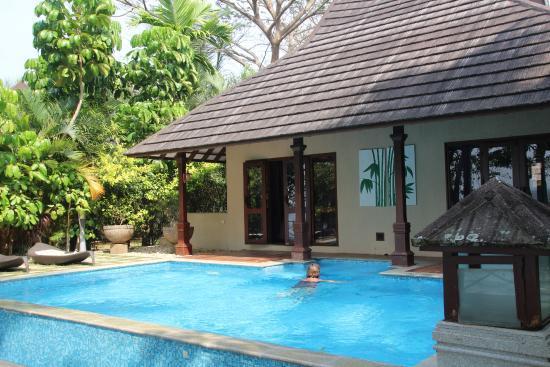Our Private Pool Picture Of The Zuri Kumarakom Kumarakom Tripadvisor
