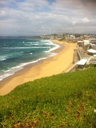 One of the beautiful beaches of newcastle