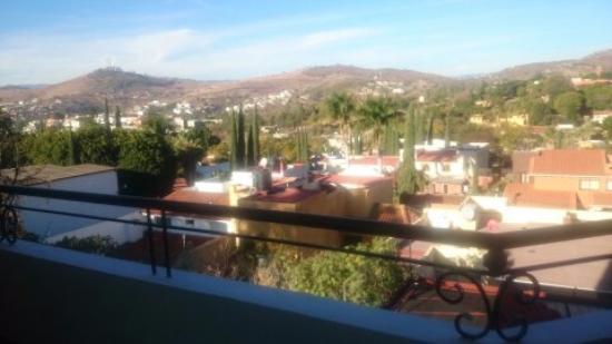 San Felipe del Agua, México: Tomada en la mañana desde la habitacion