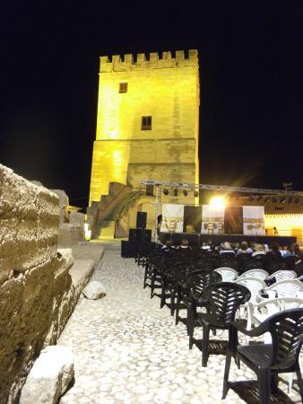 Orce, Hiszpania: Alcazaba de las Siete Torres