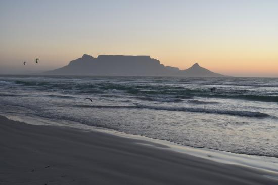 View from Bloubergstrand Beach