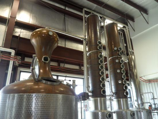 Donner-Peltier Distillers: Stills that were custom made in Germany.