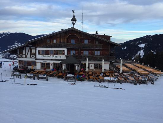 Berggasthof Munzen Flachau Restaurant Avis Photos Tripadvisor